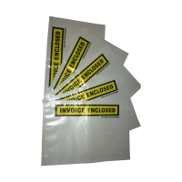 Invoice Enclosed WHITE BACKGROUND 230mmx150mm 500 per box - Click for more info
