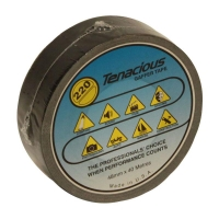 Tenacious Premium Cloth Tape K190 BLACK 48mmx25m - Click for more info