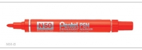 Pentel Bullet Point Marking Pen N50 RED 12 - Click for more info