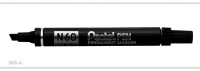 Petel Permanent Marker Pen N60 BLK (12) - Click for more info
