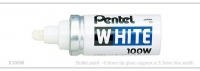 Pentel White Marker Bulletpoint 6.6mm Tip - Click for more info