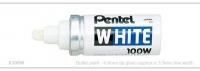 Pentel White Marker Bulletpoint 6.6mm Tip - Click for more info