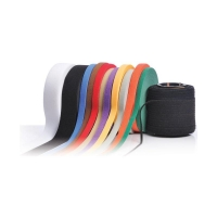 VELCRO Brand ONE-WRAP Straps BLACK 25mmx200mm 100 per roll - Click for more info