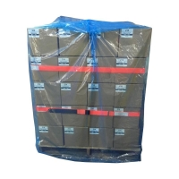 Pallet Bag 40UM BLUE 1220x1220mm Perforated 1m 100 per roll - Click for more info