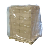 Pallet Bag 40UM 1220x1220mm Perforated 2m 100 per roll - Click for more info