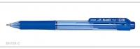 Pentel Ballpoint Pen E-Ball Retractable BK130 (Blue) - Click for more info