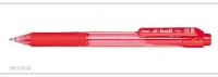 Pentel Ballpoint Pen E-Ball Retractable BK130 (Red) - Click for more info
