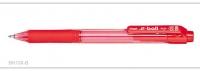 Pentel Ballpoint Pen E-Ball Retractable BK130 (Red) - Click for more info