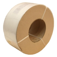 Signode 12X3000M CLEAR Poly Strapping (Premium Plain Wrap) - Click for more info