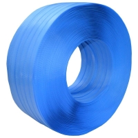 Signode Poly Strapping 15mmx1000M Std BLUE Disp Pack - Click for more info