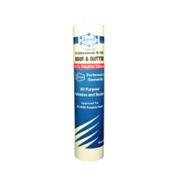 Admil Roof & Gutter N-192 300ml CLEAR Neutral Cure Silicone - Click for more info