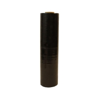 Stretch Film BLACK OPAQUE 25UM H216 500mmx400m - Click for more info