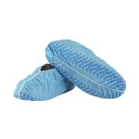 Shoe Covers PP Non Skid BLUE 500 per carton - Click for more info