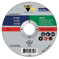 SIA Cutoff Wheel A60S-BF Inox 115mmx1mmx22mm - Click for more info