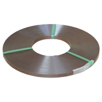 Apex 15mm BROWN Ribbon Wound  Steel Strap Approx 12Kg/Coil - Click for more info