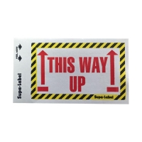 THIS WAY UP Labels 75mmx130mm 500 per box - Click for more info