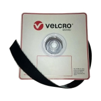 VELCRO Brand Loop BLACK 50mmx25m 1 roll - Click for more info