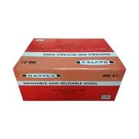 Trugrade Raytex Medium Wipes MR31 RED 38x38cm 240 per carton