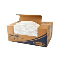Trugrade TruRags WHITE 40cmx30cm approx 800 per ctn - Click for more info